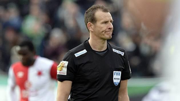 Fotbalový rozhodčí Pavel Královec