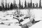 Finská pěchota v poli