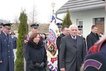 Václav Klaus s manželkou.
