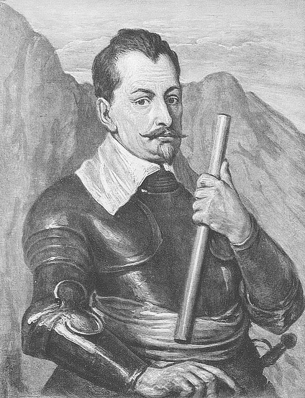 Slavného českého cestovatele a komponistu zadržel na Pecce oddíl, který tam poslal Albrecht z Valdštejna