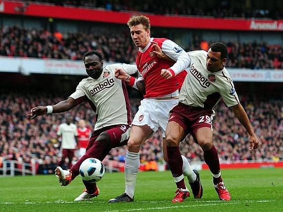 Fotbalisté Arsenalu remizovali se Sunderlandem 0:0.