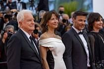 Cannes Sophie Marceau Francois Ozon a Andre Dussollier