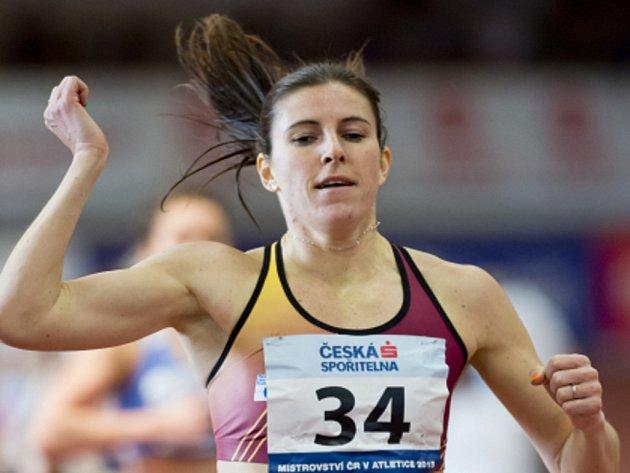 Zuzana Hejnová ovládla na halovém mistrovství ČR závod na 400 metrů.