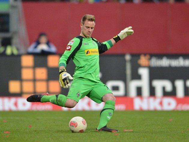 Brankář Mönchengladbachu Mark-André ter Stegen.