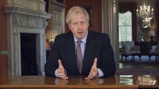 Btitský premiér Boris Johnson