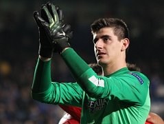 Thibaut Courtois na Stamford Bridge