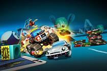 Počítačová hra Micro Machines World Series.