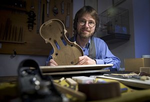 Jan Baptista Špidlen, houslař, výroba houslí