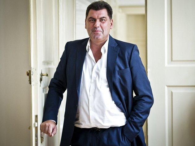 Martin Nejedlý, statutární místopředseda SPOZ, poskytl 1.října vPraze rozhovor Deníku.