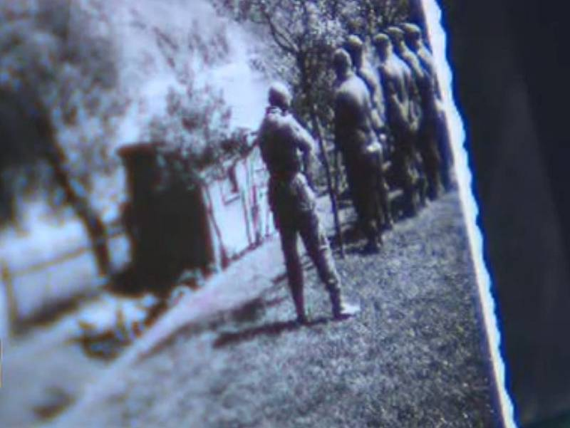 Průběh masakru sedmi mladíků v Živohošti 7. května 1945 byl dokonce zdokumentován. Fotografie uchovává Hornické muzeum v Příbrami.