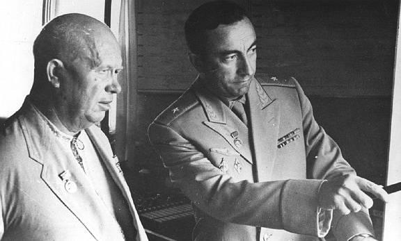 Nikita Sergejevič Chruščov na Krymu, rok 1962