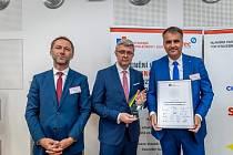 Ocenění Top stavební společnost roku 2020 pro CHT Pardubice