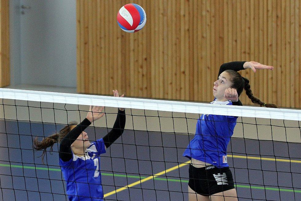 Sportovní gymnázium se zaměřuje také na volejbal