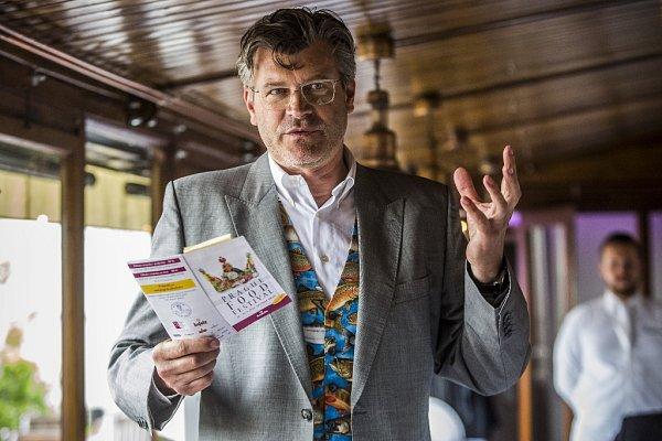 Pavel Maurer představil 20.května na tiskové konferenci IX. ročník Prague Food Festivalu.