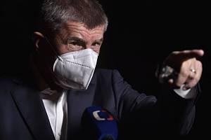Premiér a šéf hnutí ANO Andrej Babiš.