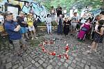 Pieta za Miladu Horákovou.