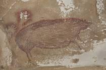 Nejstarší známá zvířecí jeskynní malba se nachází v Indonésii. Vznikla před 45 tisíci let