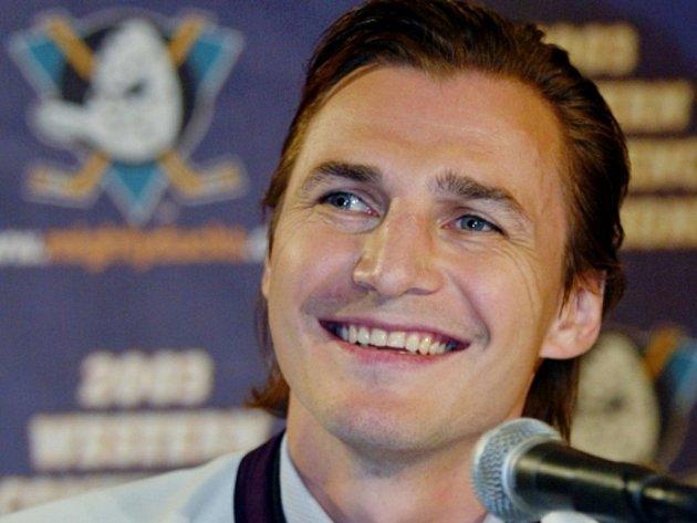 Ruský hokejista Sergej Fjodorov.