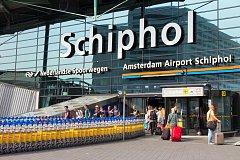 Letiště Schiphol v Amsterdamu, ilustrační foto