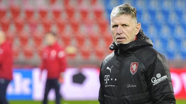 Reprezentační trenér Jaroslav Šilhavý.