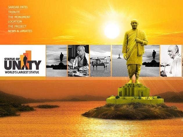Socha má zachycovat indického politika Sardara Patéla, který platí za jednoho ze zakladatelů moderní Indie. Výška skulptury by měla dosahovat 182 metrů, což je čtyřnásobek Sochy svobody v New Yorku.