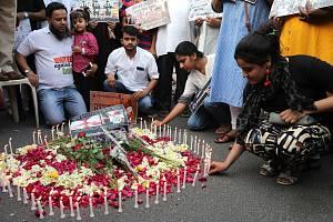 Pietní akce za oběti útoků na Srí Lance