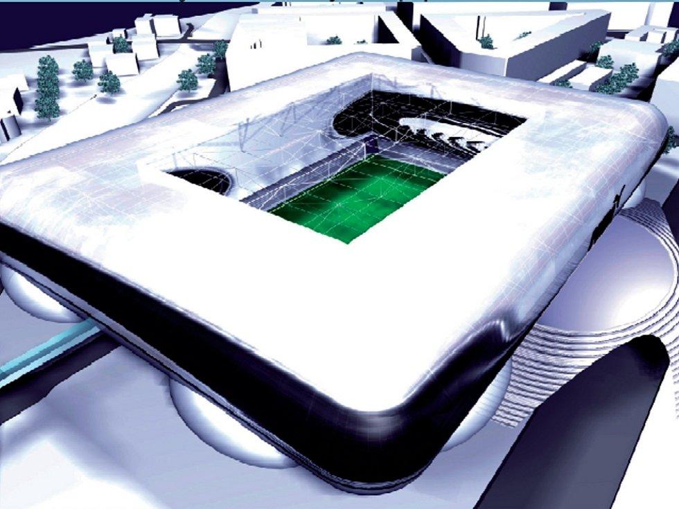 Národní fotbalový stadion - plány.