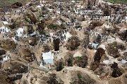Těžba coltanu v provincii Katanga v Kongu