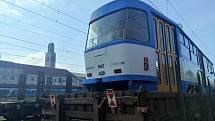 Do Krkonoš míří čtyři ikonické vozy T3, které před dvěma lety dosloužily v Dopravním podniku Ostrava