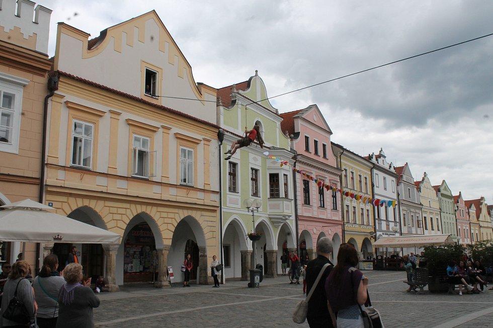 Březanova ulice v Třeboni