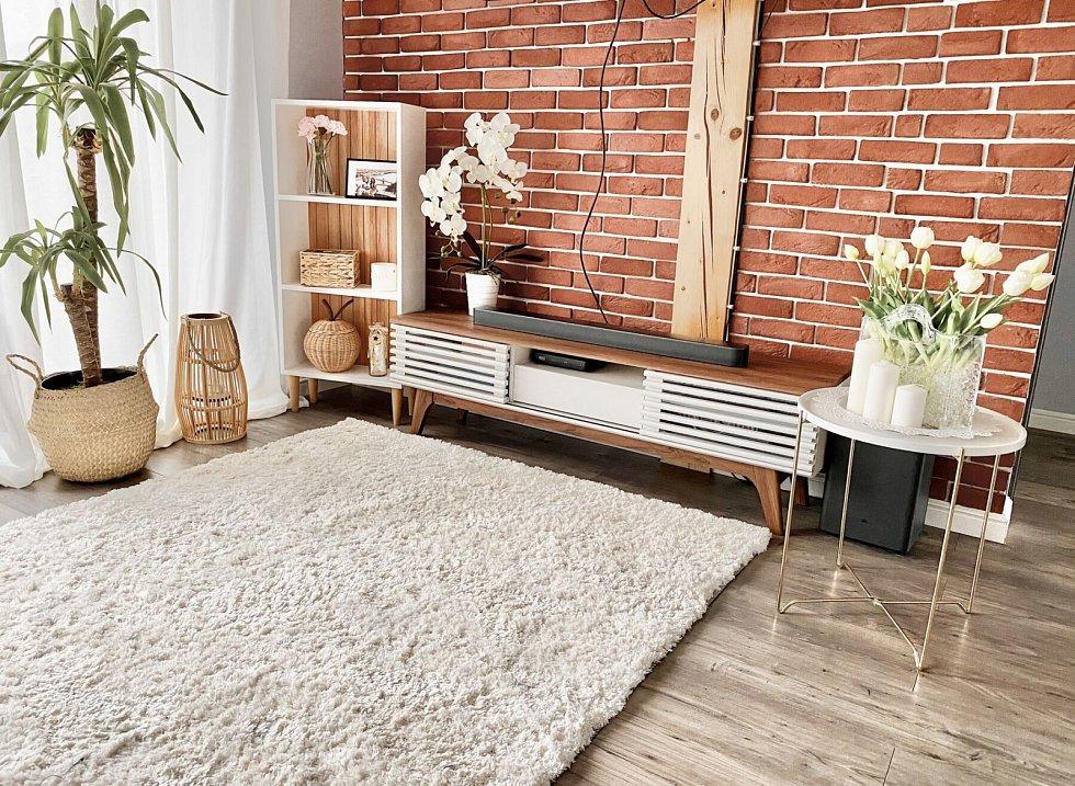 Ve velkém se do obývacích pokojů vracejí nízké komody. Elegantní skříňky schovají to, co má být skryto, a přitom nechají dost prostoru například pro umístění váz, dekorací nebo obrazů. I knihovna či regál mohou být považovány za příjemnou dekoraci.