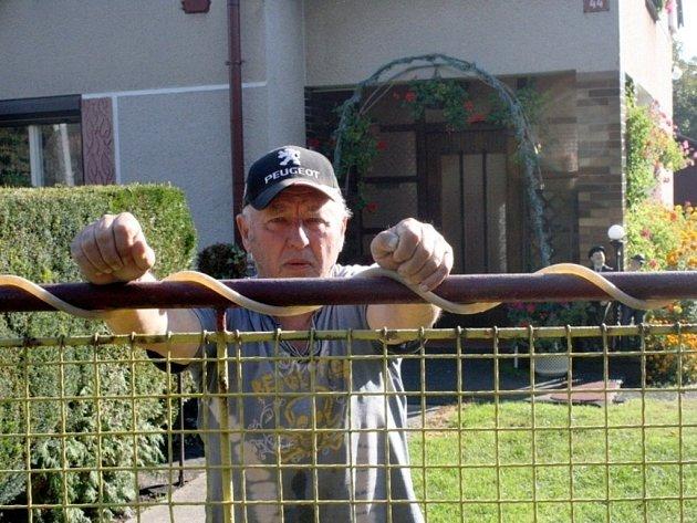 Soused Miloslav Lizner byl svědkem nálezu těla.