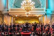 Závěrečný koncert festivalu v paláci Žofín
