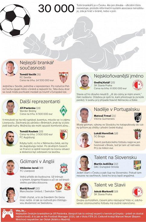 Fotbaloví brankáři