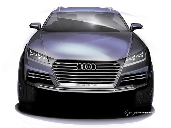 Audi představí na lednovém autosalonu vDetroitu nový koncept.