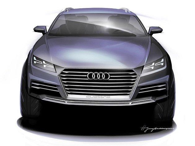 Koncept SUV od Audi pro autosalon v Detroitu.