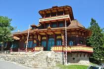 Obnovená chata Libušín