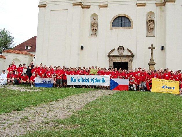 Věřící z celé republiky se vydali na cyklopouť do Španělska.