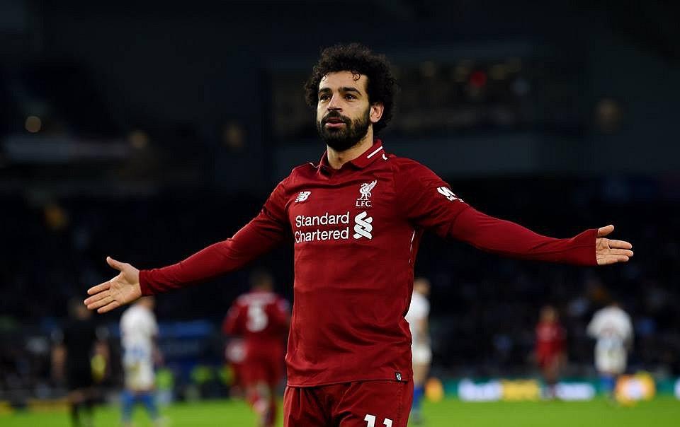 Fotbalista Liverpoolu Mohamed Salah