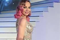 Ornella Mutiová při volbě České Miss 2013.