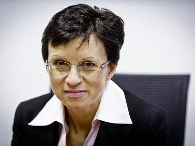 Renáta Kadlecová, výkonná ředitelka Fondu pojištění vkladů.