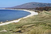 Pobřeží jezera Bajkal.