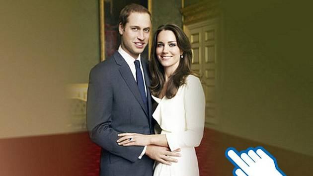 Královská svatba prince Wiliama a Kate Middleton.