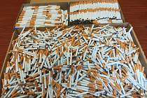Nelegální výroba cigaret - ilustrační foto