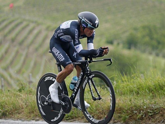 Rigoberto Urán po triumfu v časovce sesadil z prvního místa na Giro d'Italia Cadela Evanse.