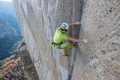 Adam Ondra v rekordním čase přelezl Dawn Wall v masivu El Capitan v Yosemitském národním parku v USA.
