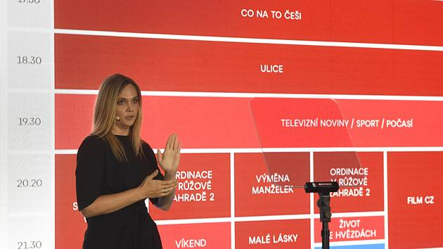 Programová ředitelka TV Nova Alexandra Růžek