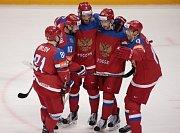 Radost hráčů Ruska.