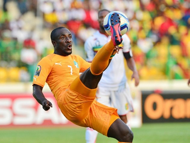 Seydou Doumbia na mistrovství Afriky
