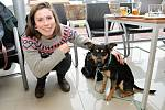 Eva Samková a její pes Nero.